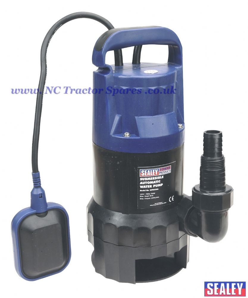 Submersible Dirty Water Pump Automatic 235ltr/min 230V